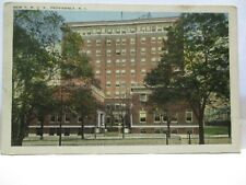 "1920s RHODE ISLAND NEWS CO  POSTCARD "" NEW YMCA , PROVIDENCE RI "" UNUSED"