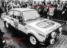 Henri Toivonen Ford Escort RS 1800 RAC Rally 1979 Photograph 3