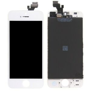 Display Lcd + Touch Screen + Frame Per Apple Iphone 5 Bianco Originale Tianma
