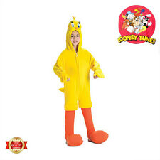 Tweety Bird Plush Child Toddler Costume Loony Tunes Licensed Yellow Jumpsuit