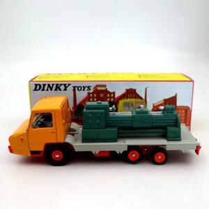 Atlas Dinky toys 569P Berliet Stradair Plateau Surbaisse Machine Outil Truck