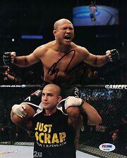 BJ Penn Signed 8x10 Auto PSA MMA The Prodigy