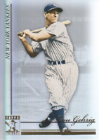 2010 Topps Tribute Baseball #18 Lou Gehrig New York Yankees