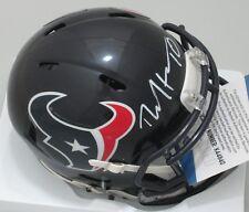 Texans Receiver DEANDRE HOPKINS Signed Speed Mini Helmet AUTO - Beckett COA