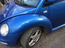 VW Volkswagen Beetle 2000-2005 N/S Passenger Side Wing Blue - LW5Y