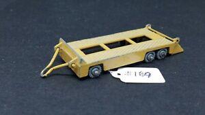 Lesney Matchbox Regular Wheel - #16 Transporter Trailer