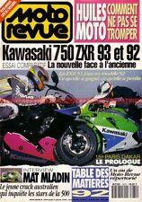 MOTO REVUE 3070 KAWASAKI ZXR 750 BMW R75/6 ; Mat MLADIN ; PARIS DAKAR 1993