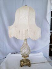 Vintage Murano art glass swirl  lamp