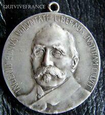 MED2374 - MEDAILLE INDUSTRIE & COMMERCE par LEON RUFFE 1904 ARGENT  FRENCH MEDAL