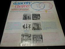 Dancers Choice Vinyl Record Album LP 1959 Mid Century Dance Music
