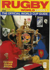 More details for rugby world cup 1987 official guide magazine june 1987