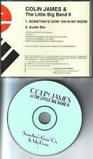 COLIN JAMES Somethin's Goin On In My Room PROMO DJ CD