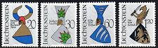 Liechtenstein 1966 Coats of arms Mi. 465-68 MNH