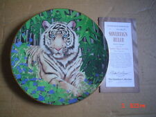 The Hamilton Collection Collectors Plate SOVEREIGN RULER Tiger