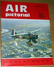 Air Pictorial 1971 July DH Venom,Hannover Aircraft 1915-1919