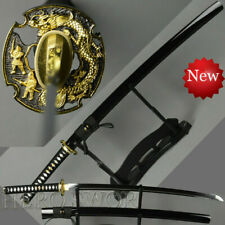 Handmade VERY SHARP Japanese Katana Samurai T1060 Steel Sword Full Tang Sharp