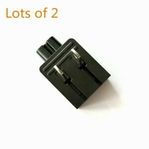2-Prong Figure-8 US AC Power Fold Plug Wall Adapter for Camera charger connector