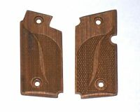 NEW Sig Sauer P238 Pistol Checkered Classic Wood Grips 380 ACP #1961