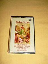 Rumbas De Oro Cassette audio Tape Compilation
