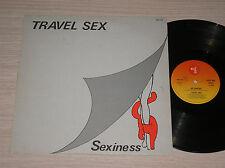 "TRAVEL SEX - SEXINESS - MAXI-SINGLE 12"" ITALO-DISCO"