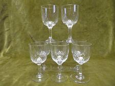 8 verres à porto cristal Baccarat Richelieu (baccarat porto wine glasses)
