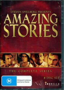 Steven Spielberg Presents: Amazing Stories DVD NEW 8-disc Region 4