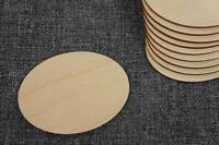 5x en bois forme de papyrus plaine TAG Plaque Hanging Décoration Craft signe w75
