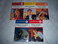 5xBooks Harlequin Mills and Boon Various Writers  Romance novels Book