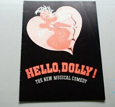 Vintage Carol Channing HELLO DOLLY Musical Theater Promotional Program