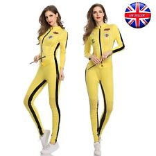 Halloween Women's Kill Bill Costume The Bride Costume Cosplay Party Fancy Dress