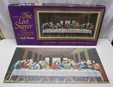 Vintage Paint by Number PBN Craft Master The Last Supper Painting 1963 in Box