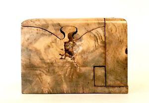 Richard Rothbard 'Buckeye' Wood Puzzle Box American Wood Crafts