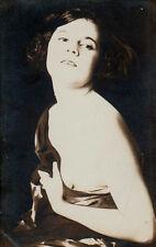 SENSUAL EROTIC Semi-NUDE VAMP! Rare ANTIQUE RISQUE PHOTO 1910s German Decadence