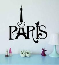Paris Eiffel Tower Removable Wall Sticker Vinyl Decal Art Mural Home Decor DIY