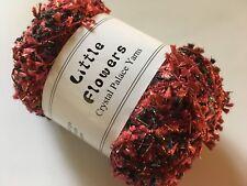 Crystal Palace Yarns Little Flowers #8122 Black Cherry - Metallic Mini Flag