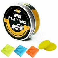 Car Polish Wax Paint Coating Kit Paste Wax + 2PCS Foam Sponge Pad + 3PCS Cloth