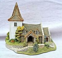 VINTAGE LILLIPUT LANE GREENSTED CHURCH WITH ORIGINAL BOX AND DEEDS PERFECT