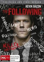 The Following Third and FInal Season 3 Three DVD NEW Region 4 Kevin Bacon