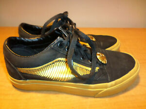 Vans Harry Potter Golden Snitch (Women's Size 6) (Men's 4.5) Shoes 721356