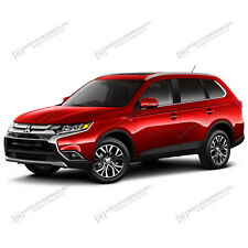 BODY SIDE Moldings PAINTED W/ Color Insert For: MITSUBISHI OUTLANDER 2016-2018