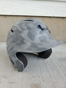 UNDER ARMOUR UABH100 Youth Baseball Batting Helmet Black Gray Camo 6.5-7.5