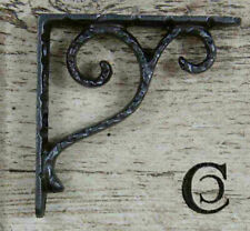 Vintage Style Cast Iron Wall Shelf Brackets Support 10x10cm
