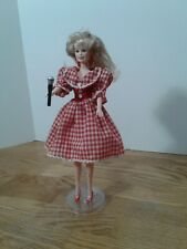 Dolly Parton Doll By Goldberger Red Plaid Dress 1996