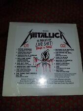 Metallica 15 Pieces Live Shit Binge Purge Cardboard 2 Cd 1993 Promo sealed