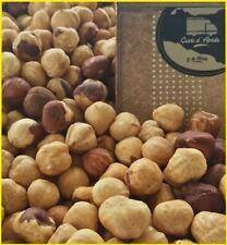 1kg nocciole tostate intere sgusciate italia sicilia croccante nuova produzione
