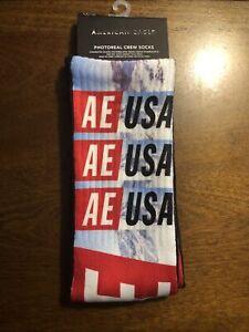 American Eagle Photoreal crew socks - Brand New