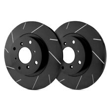 For Ford F-250 Super Duty 13-16 Slotted Vented 1-Piece Front Brake Rotors