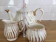 Vintage Sadler Teapot With Matching Milk Jug & Sugar Bowl