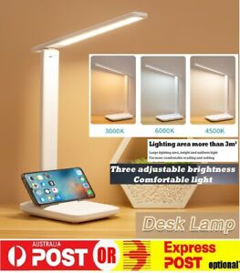 Touch LEDS Desk Lamp Study Reading Table Adjust Light Dimmable