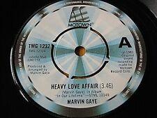 "MARVIN GAYE - HEAVY LOVE AFFAIR  7"" VINYL"